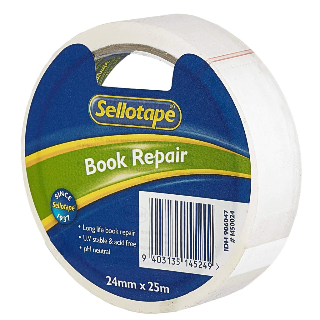 Sellotape 1450 Book Repair Tape 24mmx25m