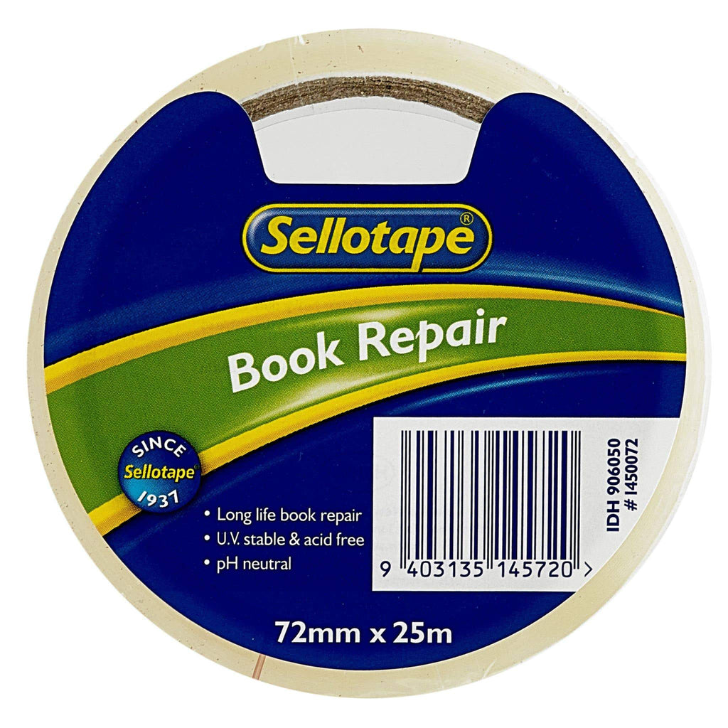 Sellotape 1450 Book Repair Tape 72mmx25m