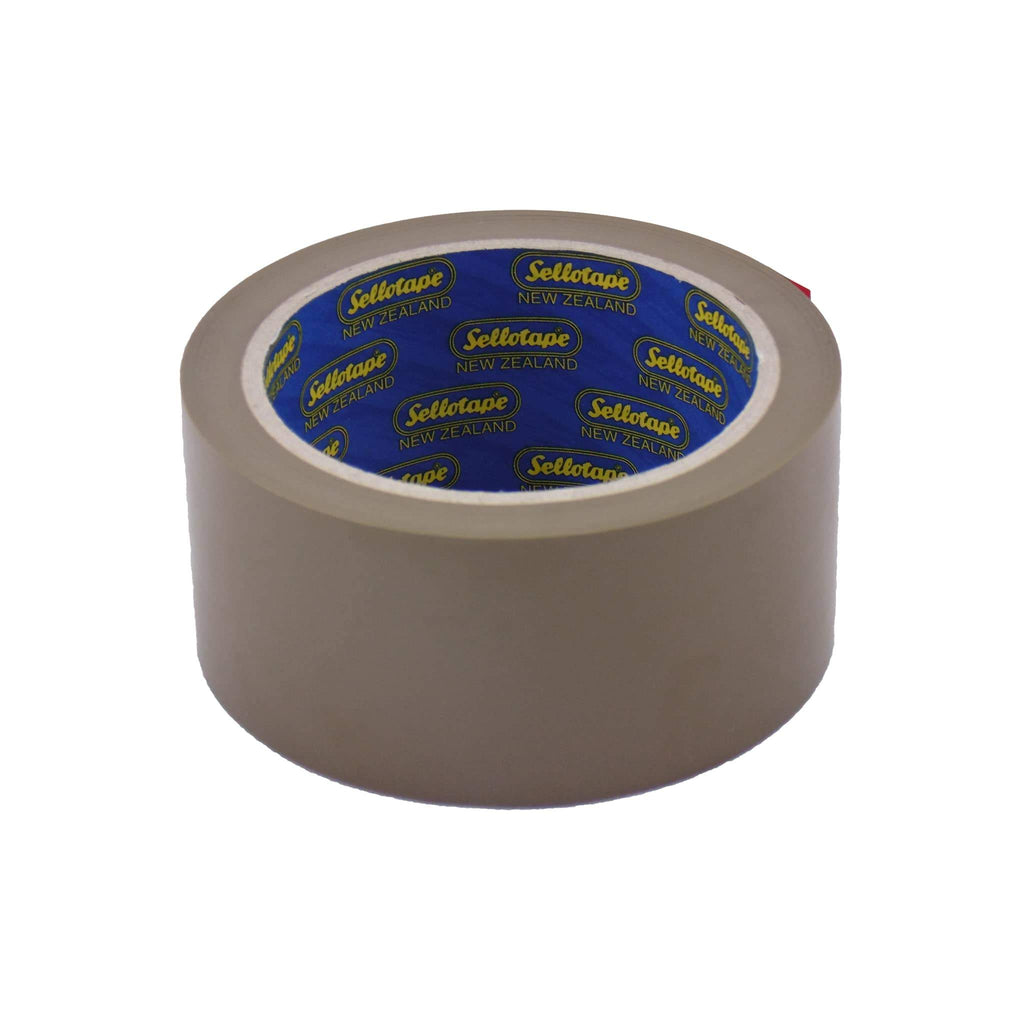 Sellotape 1552 PP Brown 48mmx55m