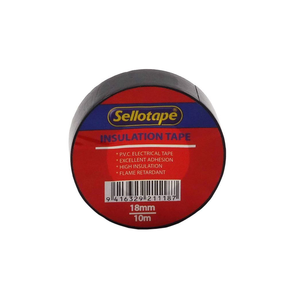 Sellotape 1711B Insulation Black 18mmx10m