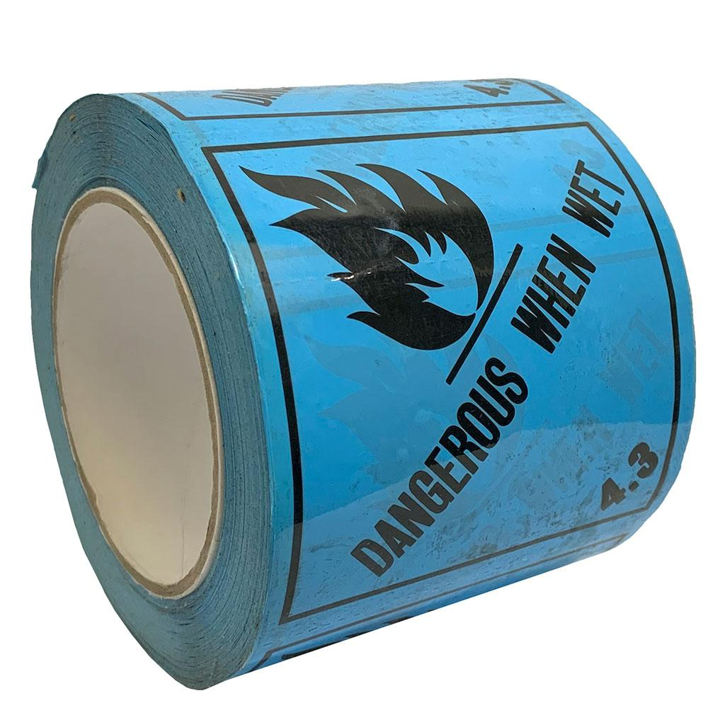 Sellotape RIP096D Dangerous When Wet 4.3 96mm x 96mm x 50m