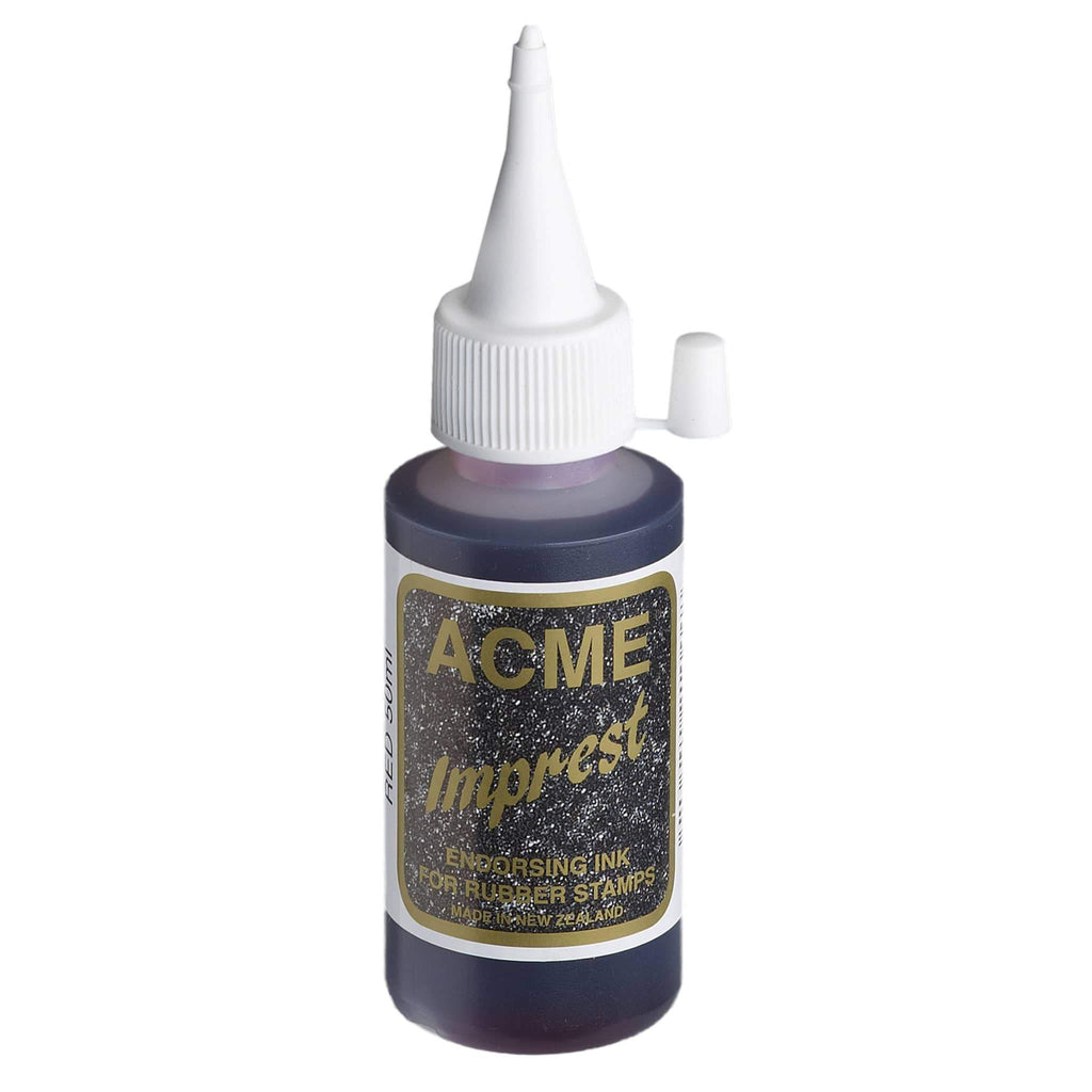 Acme Imprest Ink 50ml 7011 Red