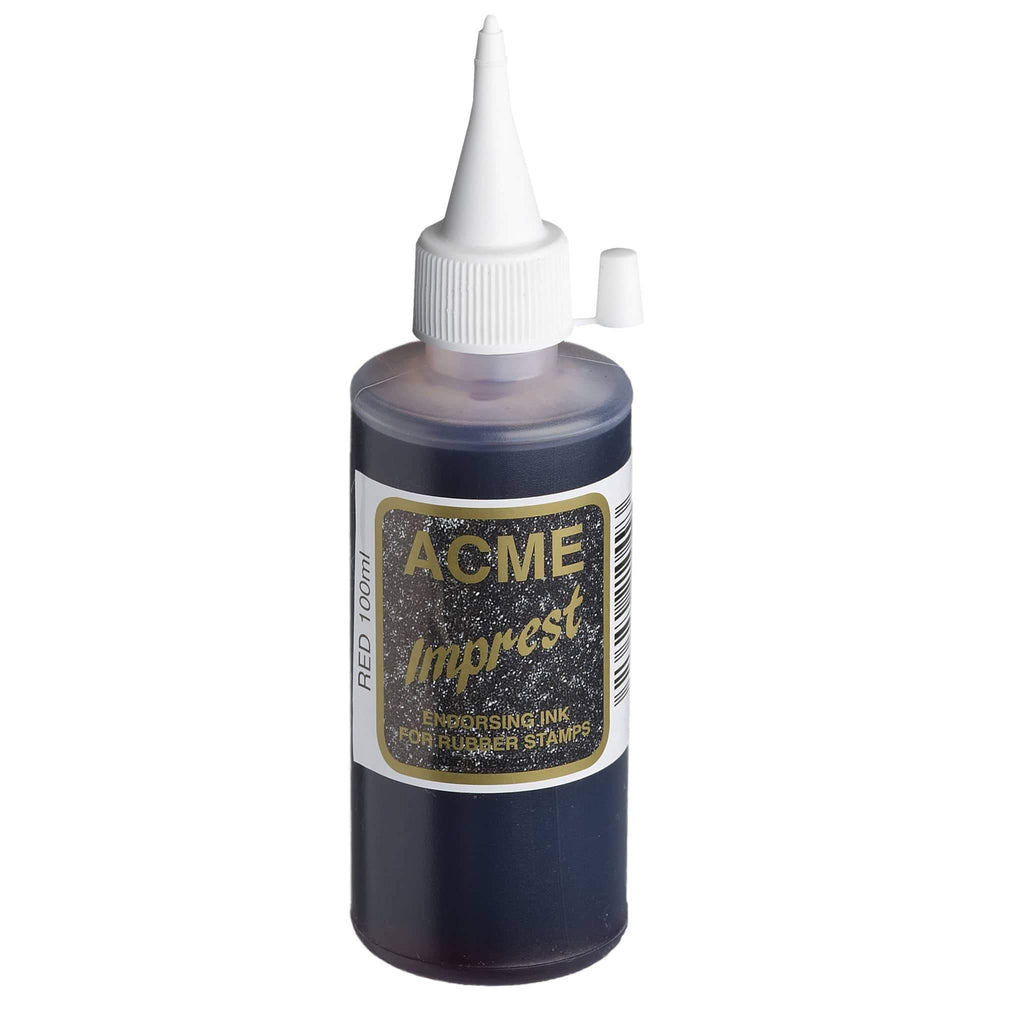 Acme Imprest Ink 100ml 7012 Red