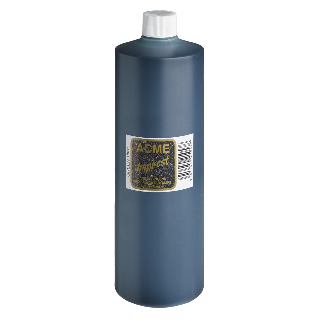 Acme Imprest Ink 1 Litre 7014 Green