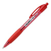 Icon Ballpoint Retractable Pen with Grip Medium Red