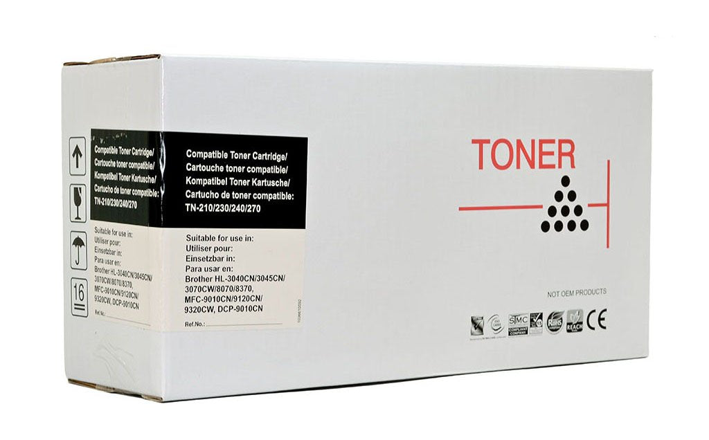 Icon Compatible Brother TN240/210/290 Black Toner Cartridge
