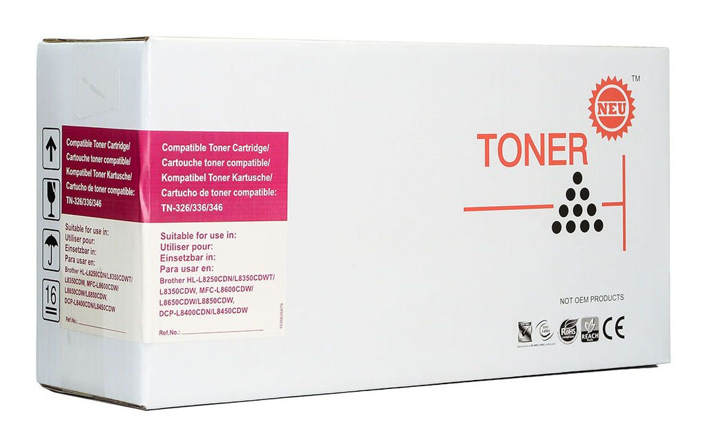 Icon Compatible Brother TN346 Magenta Toner Cartridge
