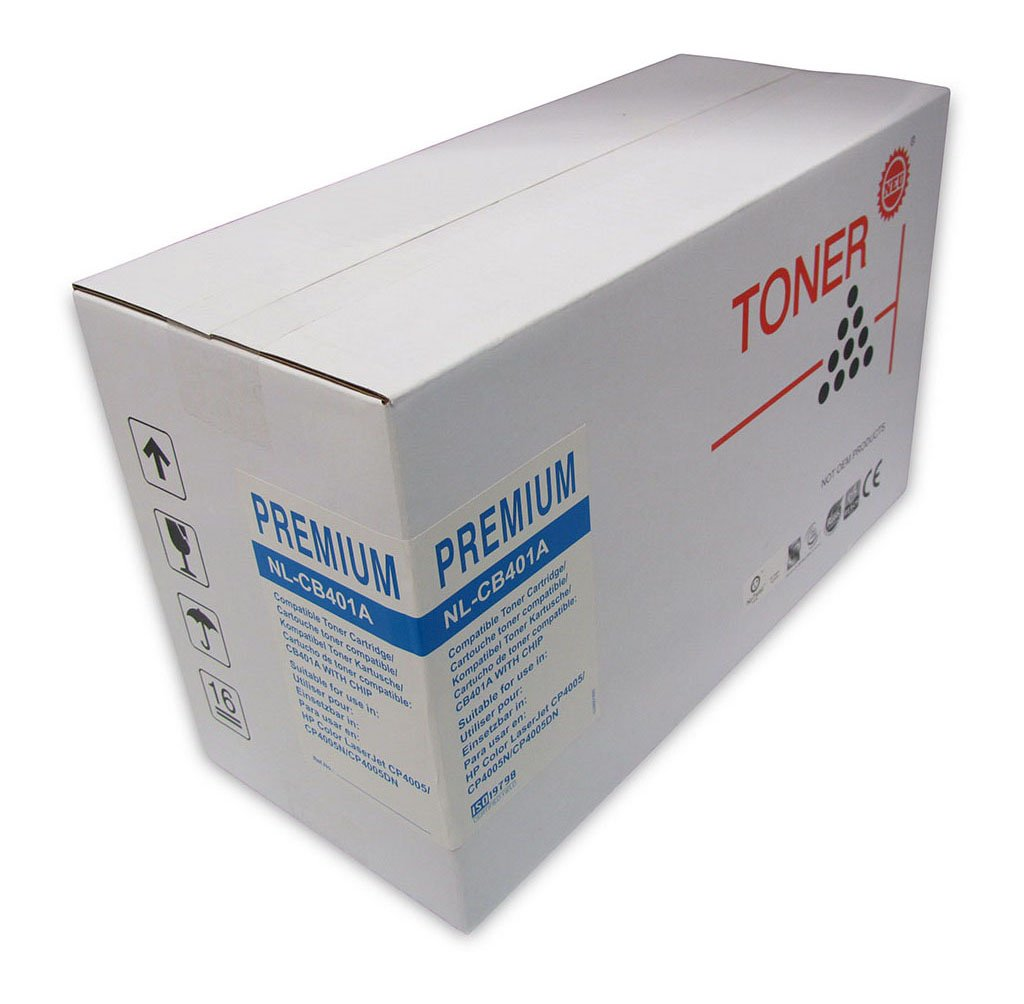 Icon Remanufactured HP CB401A Cyan Toner Cartridge