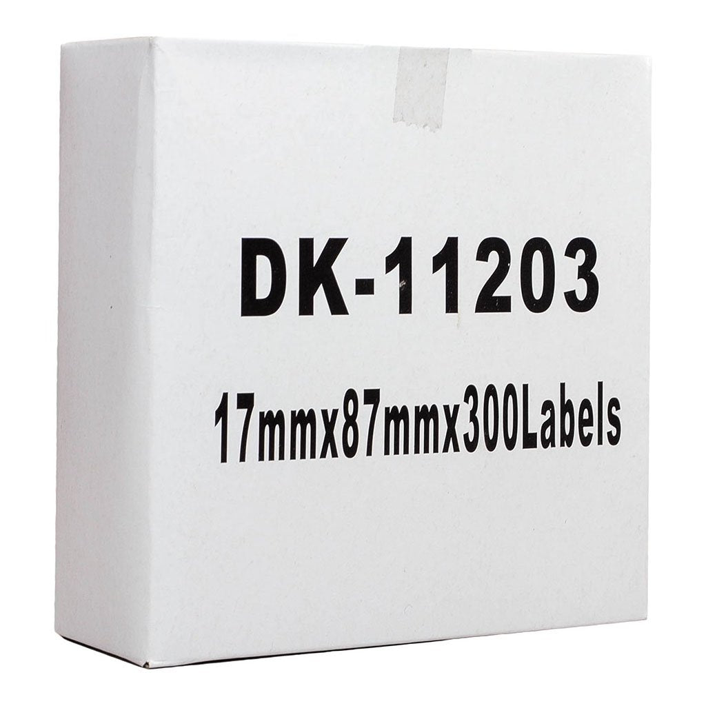 Icon Compatible Brother DK Label Standard Address 17 x 87mm 300 Labels