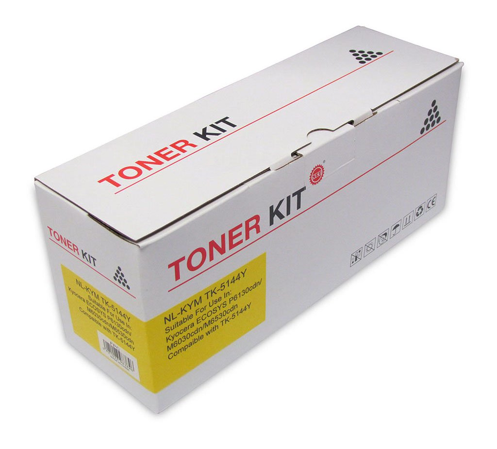 Icon Compatible Kyocera Compatible TK5144 Yellow Toner Cartridge