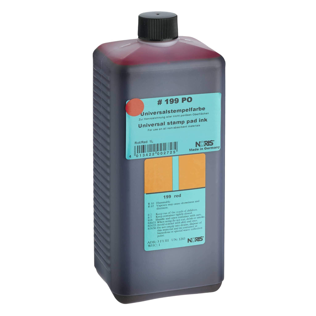 Noris Quick-Dry Ink 1 Litre #199 Red