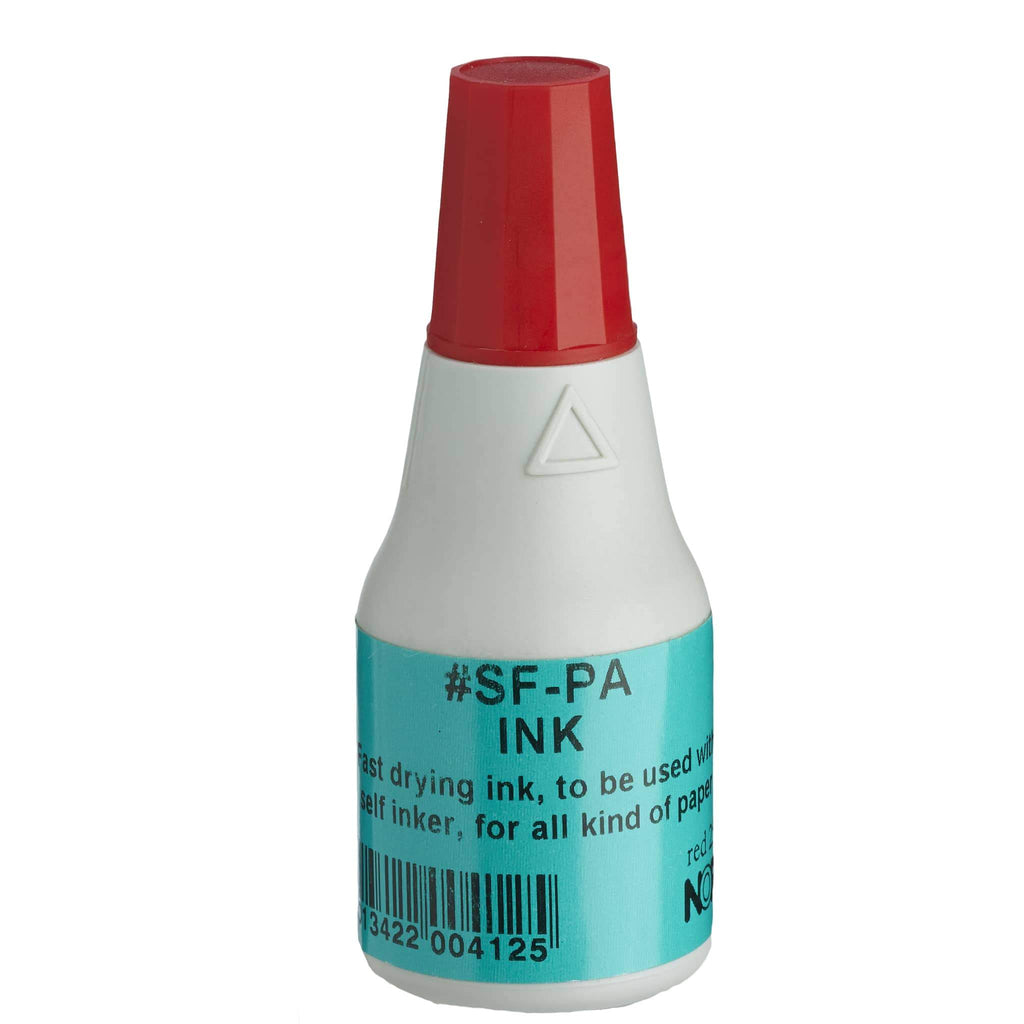 Noris Quick-Dry Ink 25ml SFPA Red