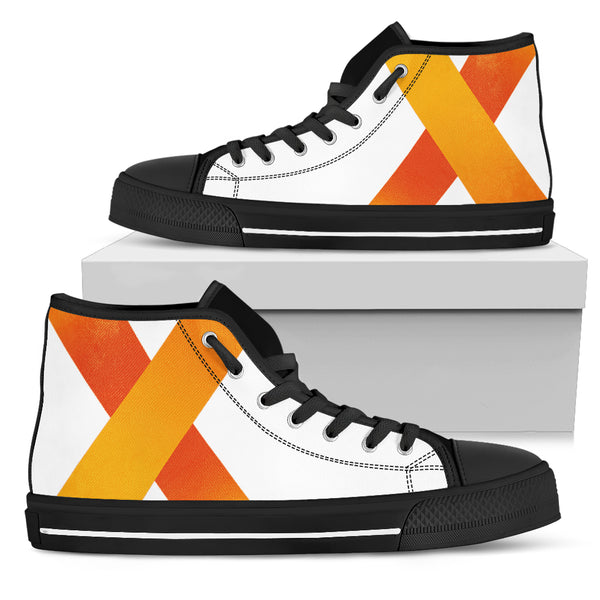 Personalized Women's High Top Shoes - Maxtor Graphics