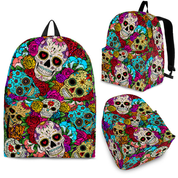 Sugar Skull Backpack - Maxtor Graphics