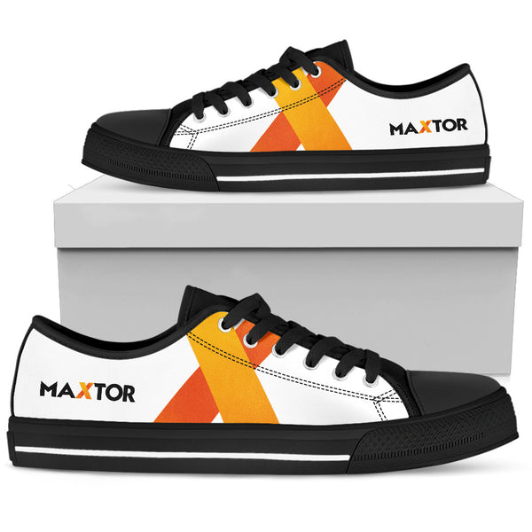 Personalized Women's Low Top Shoes - Maxtor Graphics