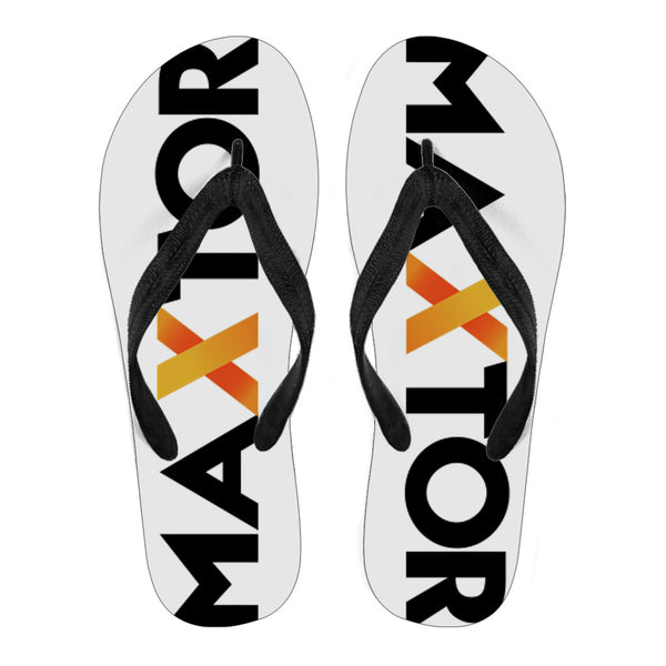 Personalized Women's Flip Flops - Maxtor Graphics