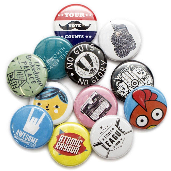 Personalized Button Pins - Maxtor Graphics
