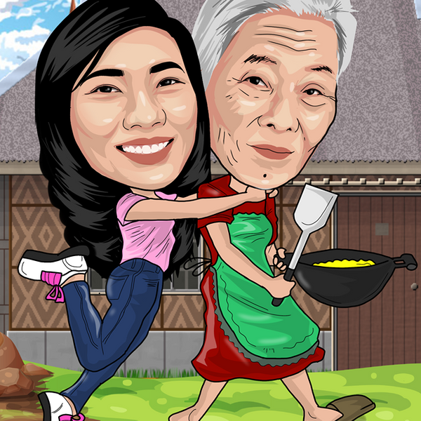 Caricature - Prints Philippines - Design your own Canvas Prints and Photo Frames Online.
