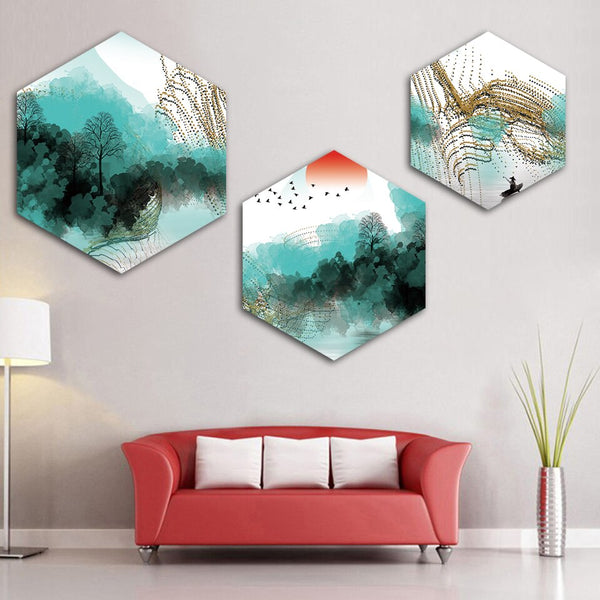 Hexagon Canvas - Prints Philippines - Design your own Canvas Prints and Photo Frames Online.