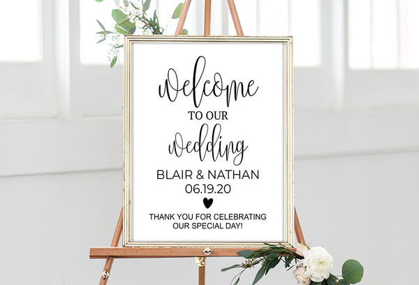Wedding Signs - Maxtor Graphics