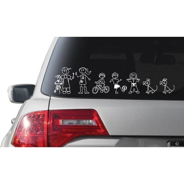 Car Stickers - Maxtor Graphics