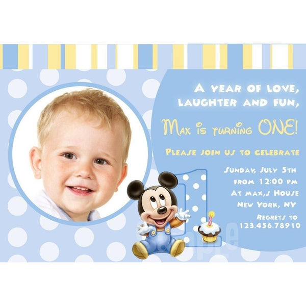 Birthday Invitations - Maxtor Graphics
