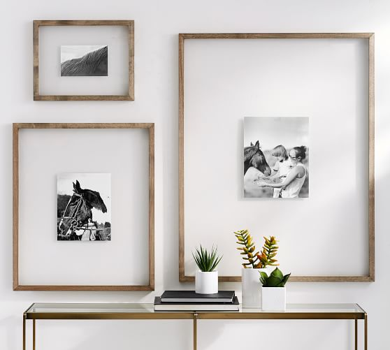 Modern Wood Photo Frame With Print - Maxtor Graphics