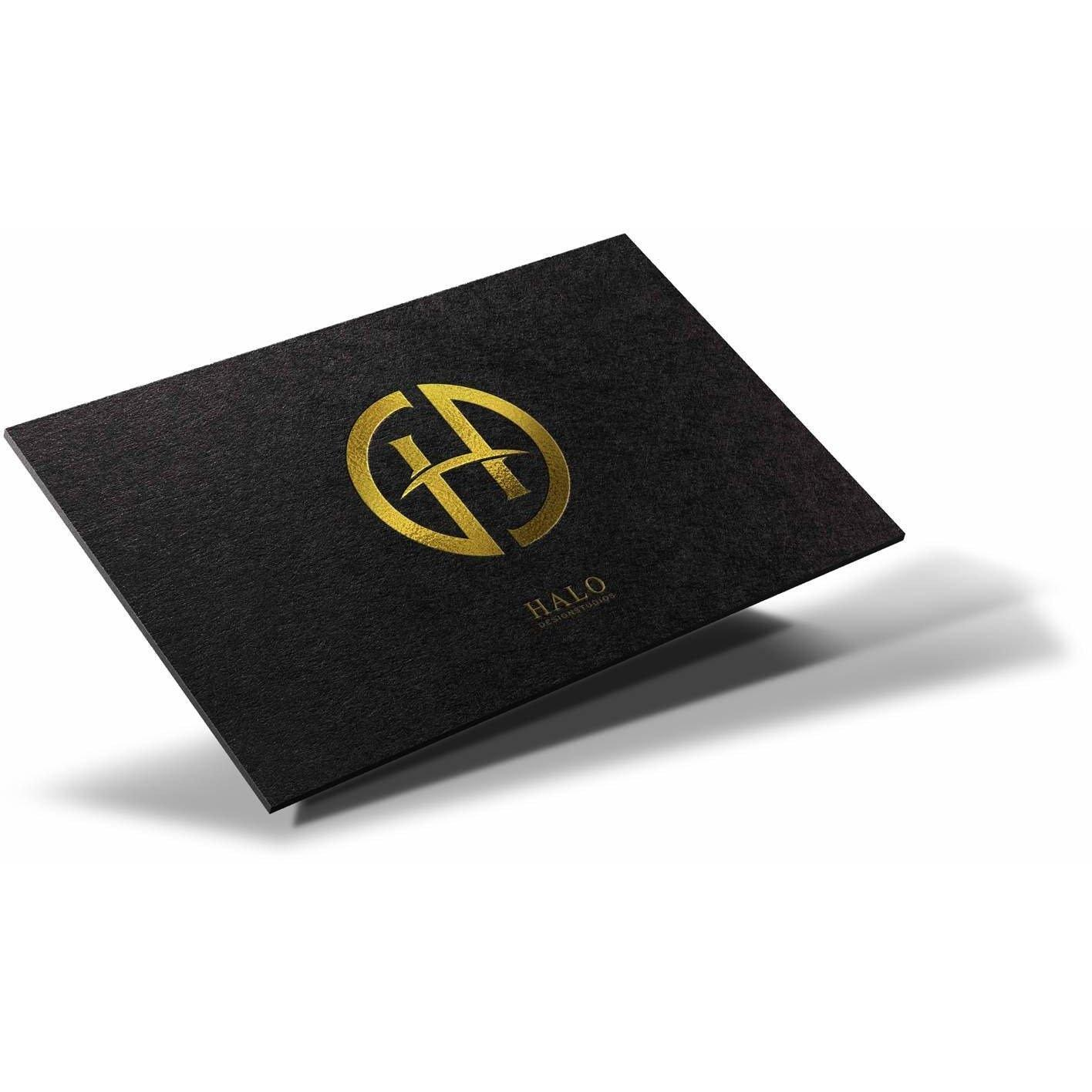 Foil Stamped Business Cards | Maxtor Graphics - Online Printing Shop ...