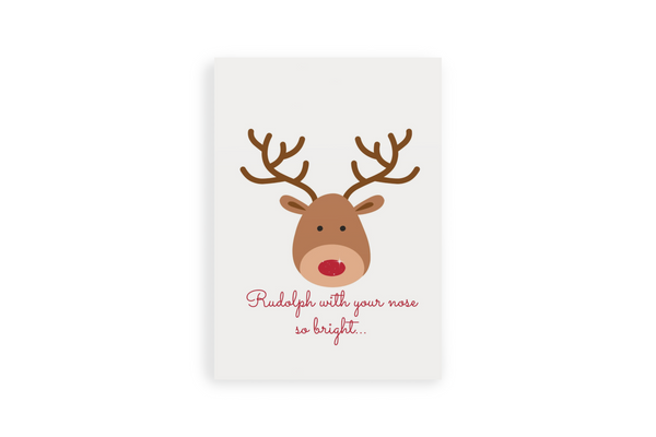 Rudolph Portrait Canvas - Maxtor Graphics