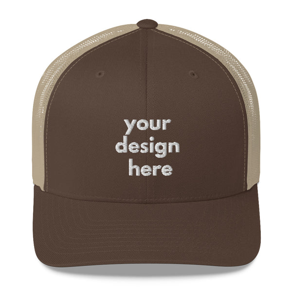 Embroidered Retro Trucker Cap - Maxtor Graphics