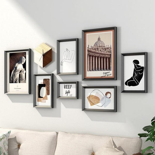 Nordic Style Photo Frame Set - Maxtor Graphics