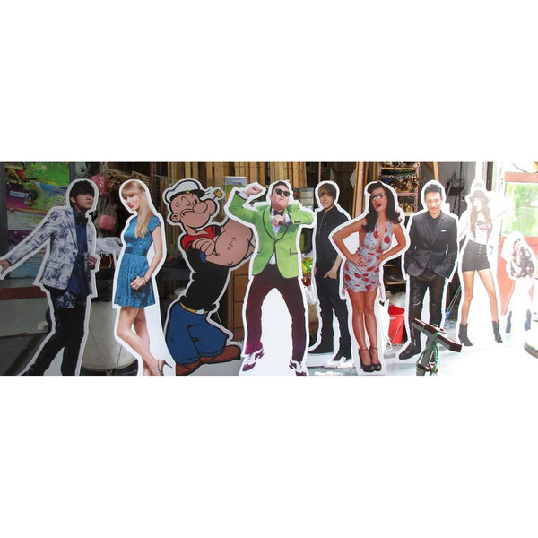 Life-Size Photo Standees - Maxtor Graphics