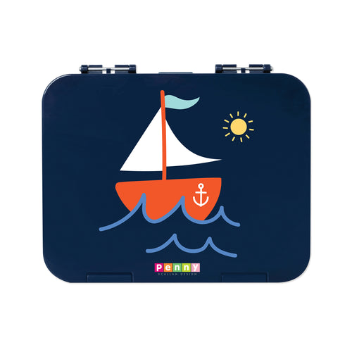 Penny Scallan Bento Box LARGE - Anchors Away