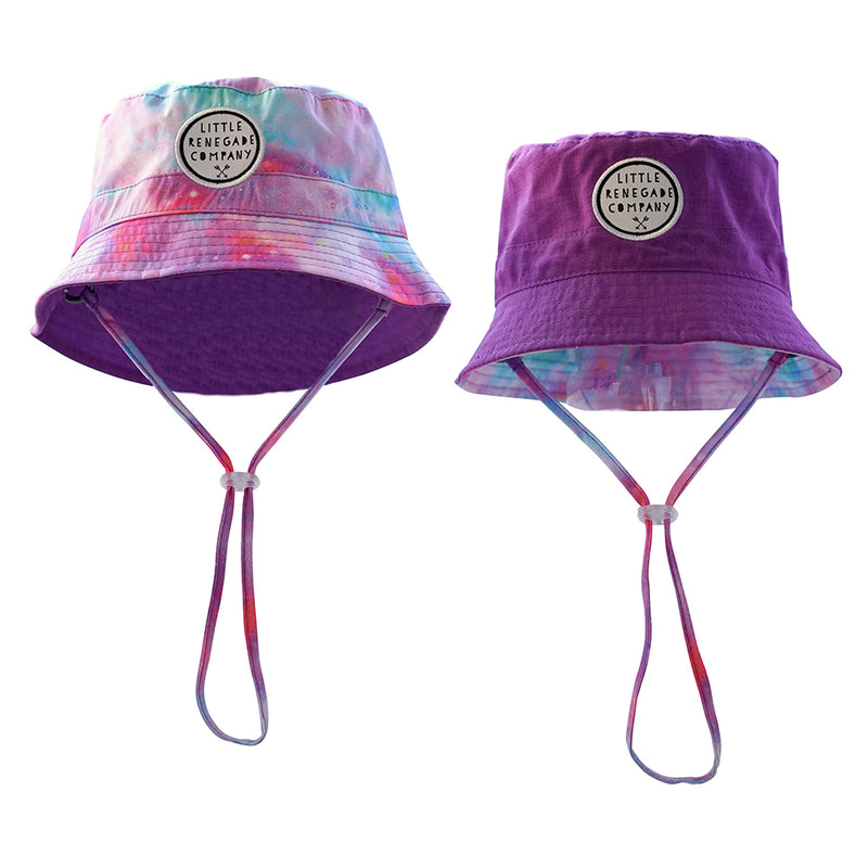 Little Renegade Company - Reversible Bucket Hat Cotton Candy