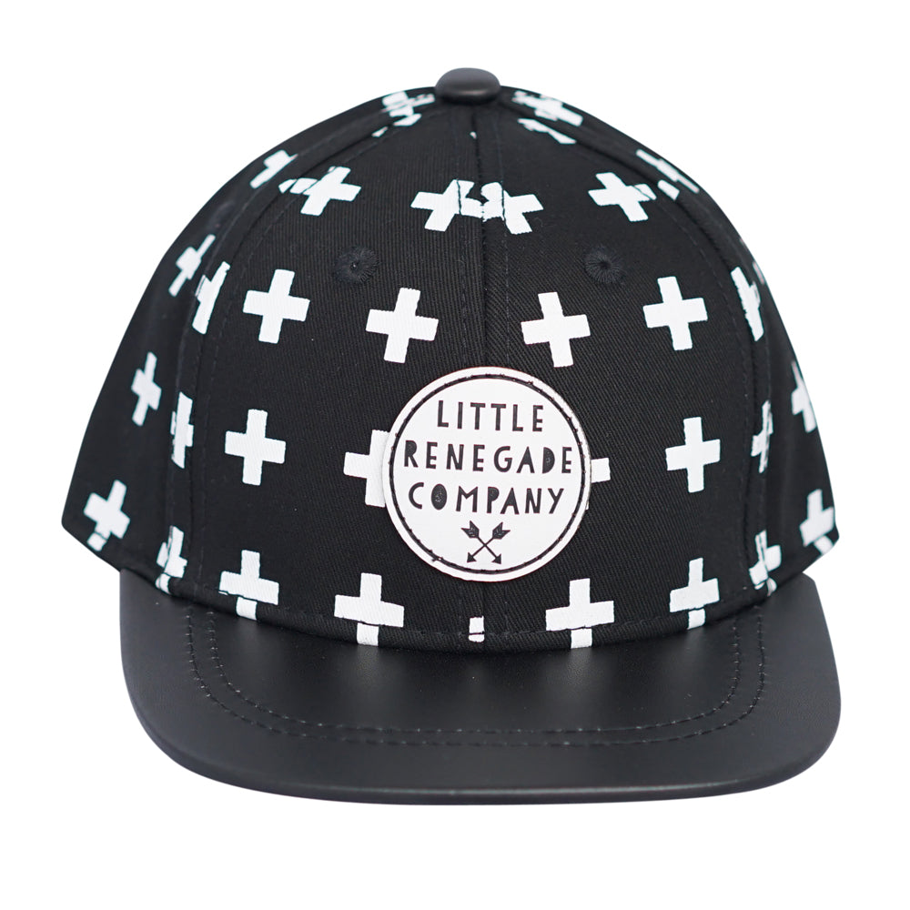 Little Renegade Company - Snapback Cap Cross Print