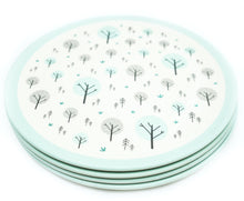 EcoCubs Original Set of 4 Dinner Plates