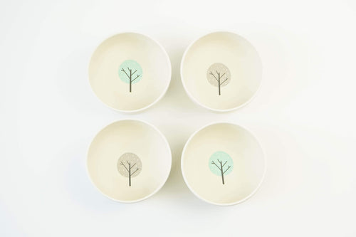 EcoCubs Original Set of 4 Small Bowls