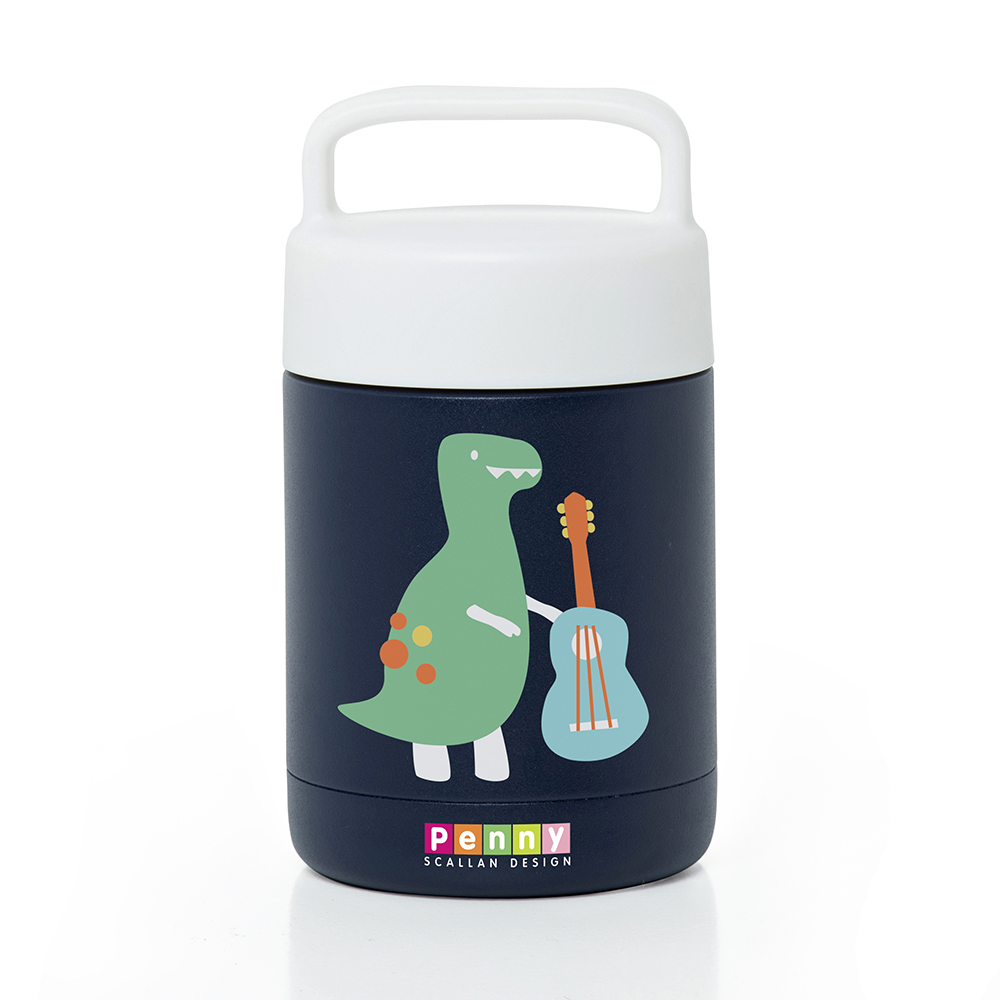 Penny Scallan Thermal Flask  - Dino Rock
