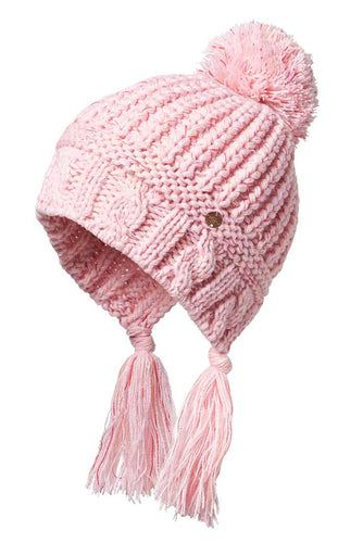 Millymook Girls Beanie - Peru Suki Blush LAST ONE