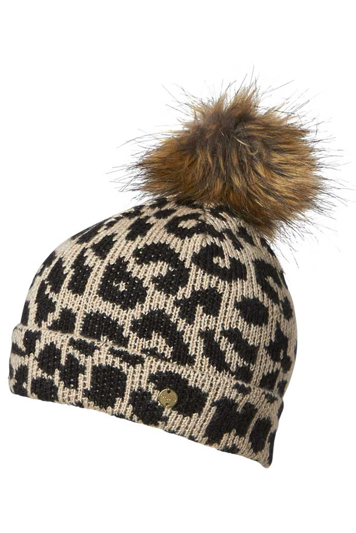 Millymook Girls Beanie - Leopard Lulu