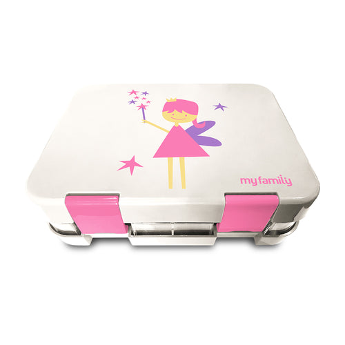 My Family Bento Lunch Box - Fairy 6 Compartment Tray
