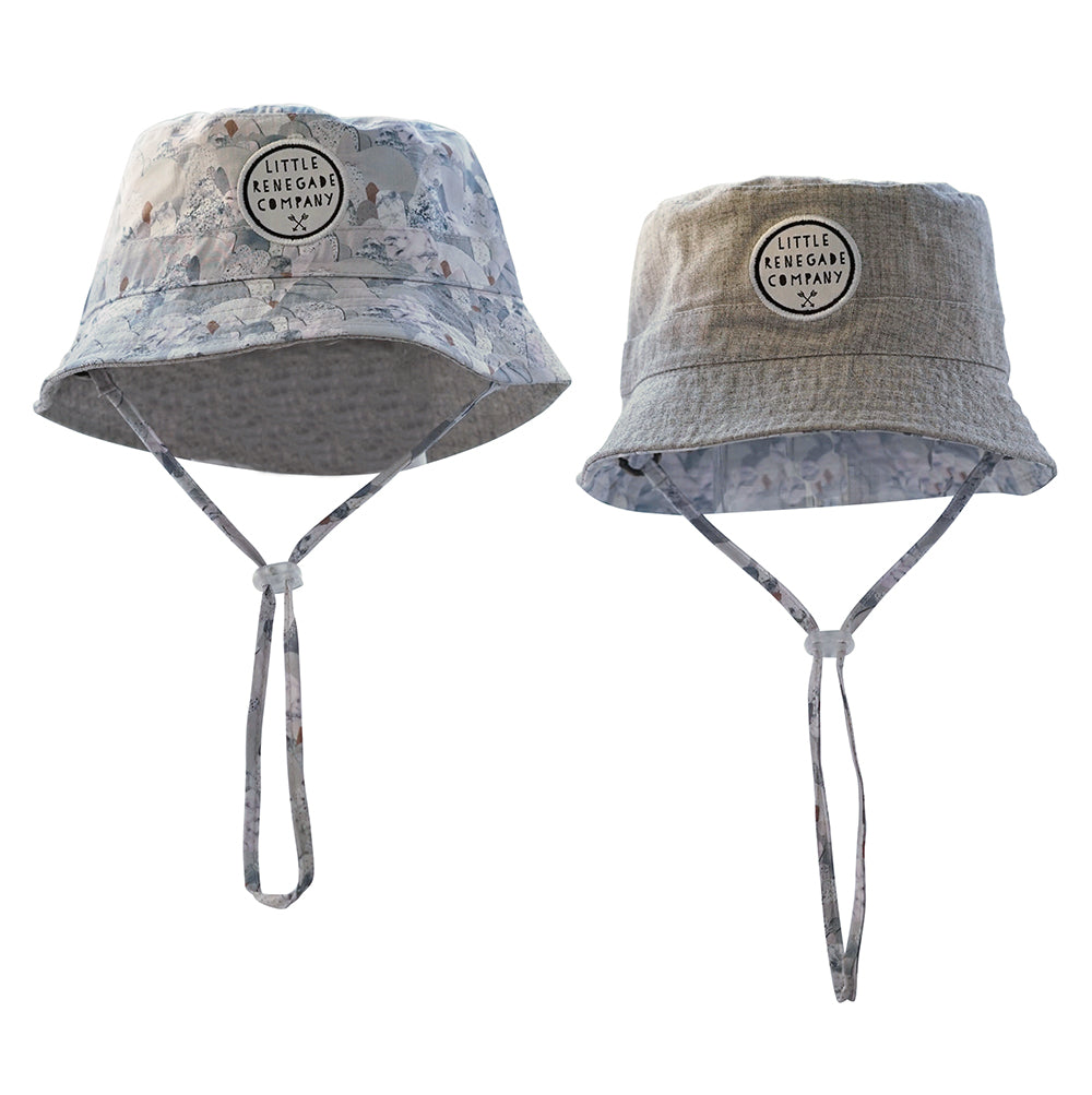 Little Renegade Company - Reversible Bucket Hat Snowday
