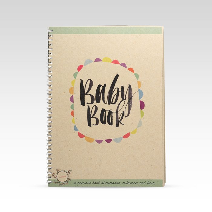 Rhi Creative Baby Memorable Moments Record Book
