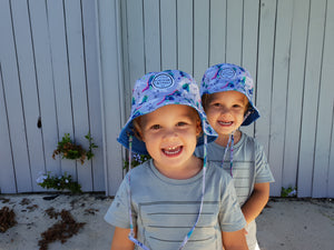 Little Renegade Company - Reversible Bucket Hat Dinoroar