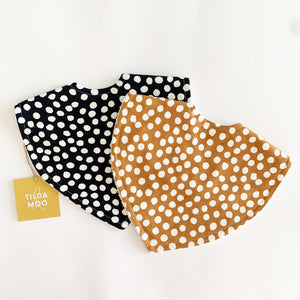 Tilda and Moo Classic Bib Spots -Deep Navy or Rust