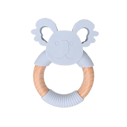 Jellystone Designs Koala Teether - Light Grey