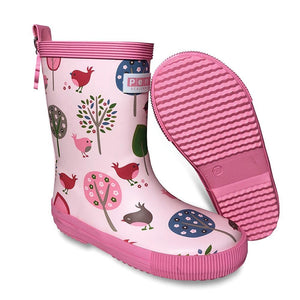 Penny Scallan Gumboot Tall - Chirpy Bird