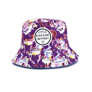 Little Renegade Company - Reversible Bucket Hat Woodland