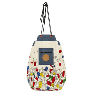 Play Pouch -  Bricks Galore Print