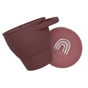 Silicone Snack Pot - Dusty Rose